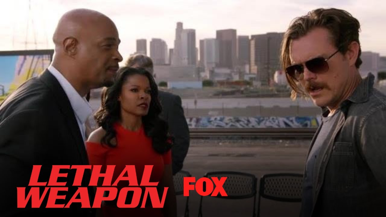 Roger & Riggs Interrupt Trish's Groundbreaking Ceremony | Season 2 Ep. 17 | LETHAL WEAPON