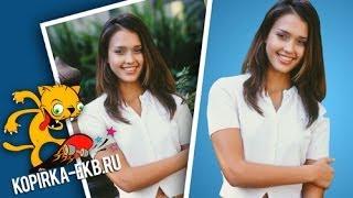 Как заменить фон на фотографии? | Видеоуроки kopirka-ekb.ru