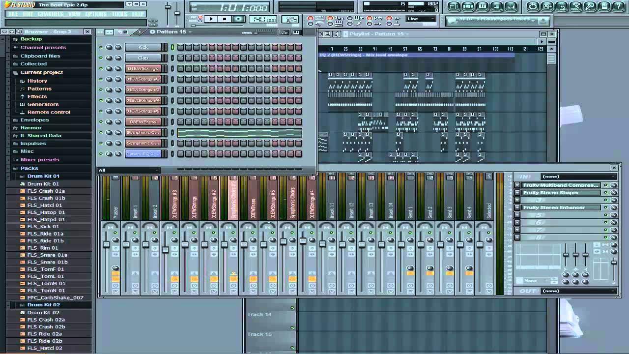 epic music fl studio