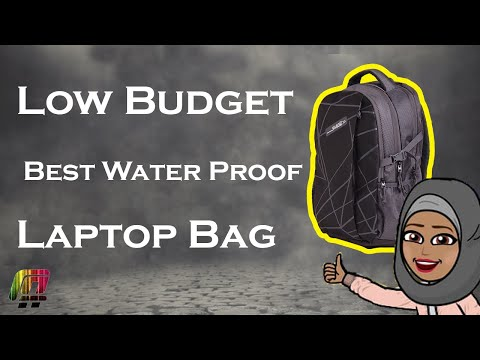 Unboxing and review on Budget friendly backpack (F Gear Talent Laptop Backpack with Rain Cover 32 L)