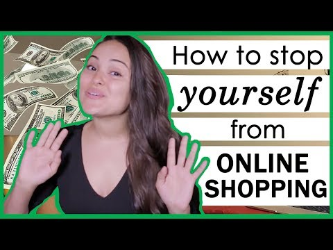 How to STOP Online Shopping Too Much!!!!!