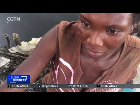 Increasing health problems among Uganda's salt miners