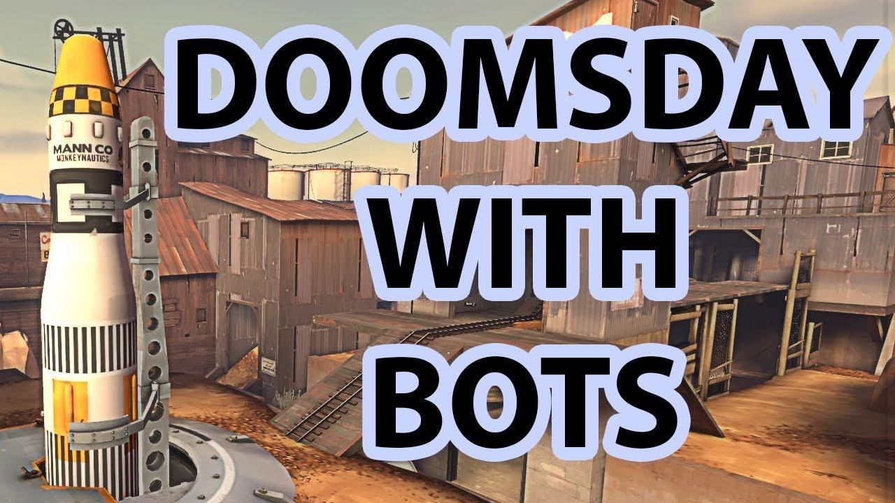 [TF2] Doomsday with Bots 16v16 | 1080p!