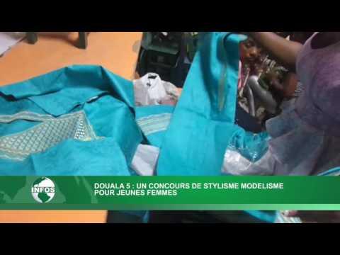 Couture:Des jeunes en fin de formation chez Wans Style à Douala.