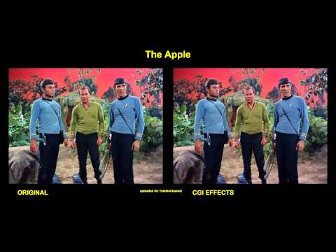 Star Trek - The Apple - visual effects comparison