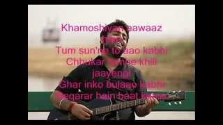 Khamoshiyan Song with Lyrics (Arijit Singh) / Khamoshiyan Hindi Movie Song