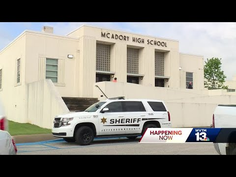 Former student arrested after showing up to McAdory High School with gun