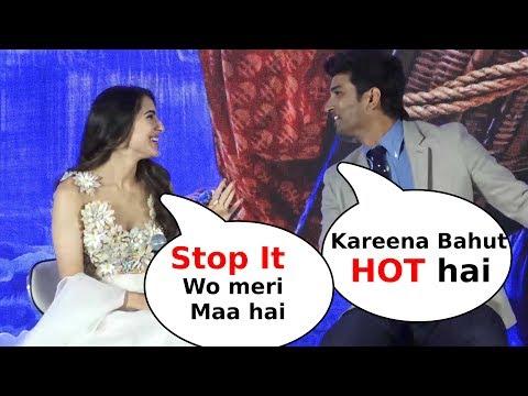 Sushant Singh Rajput Making Fun Of Sara Ali Khan Talking About Kareena Kapoor Khan