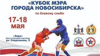 Всероссийские соревнования Кубок мэра города Новосибирска по боевому самбо среди юношей и юниоров