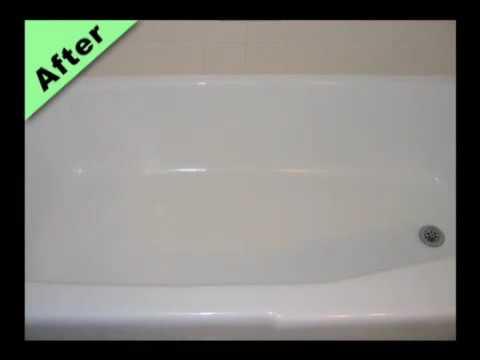 Fiberglass Bathtub Refinishing Video - Make your bath tub new ...