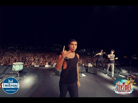maNga - Dünyanın Sonuna Doğmuşum (Zeytinli Rock Festivali 2016)