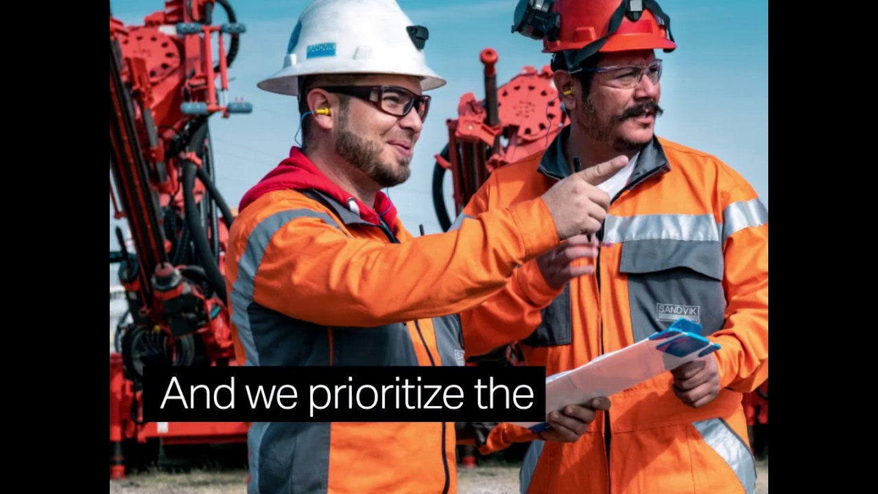 Champion People l Sandvik Group 2030 Sustainability Goals
