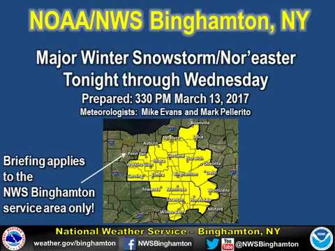Major Winter Storm Expected Tuesday Afternoon, Says National ...