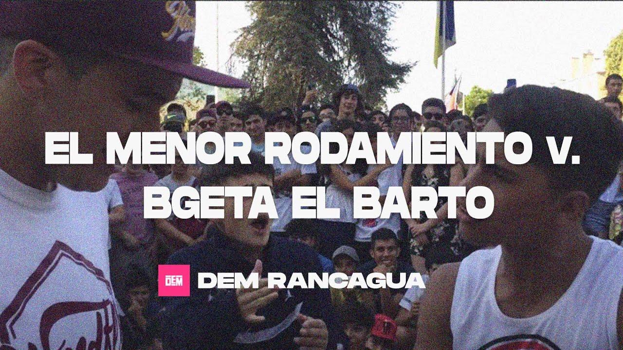 EL MENOR RODAMIENTO vs. BGETA EL BARTO: Exhibición - Gira DEM Rancagua 2019