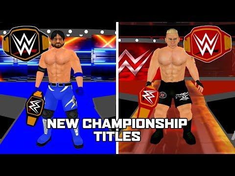 WR3D- New Championship Titles!