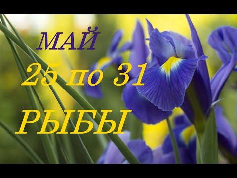 РЫБЫ. ТАРО-ПРОГНОЗ на НЕДЕЛЮ с 25 по 31 МАЯ 2020 г.