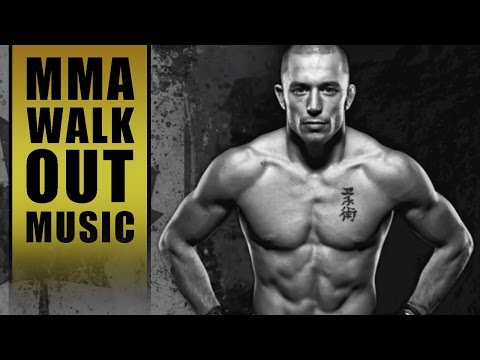 """MMA Entrance Music / Georges """"Rush"""" St.  Pierre (GSP)"""