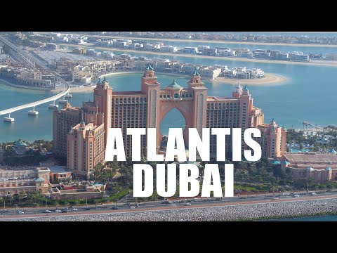 Atlantis Dubai 2019 | Aquaventure Waterpark | 4k