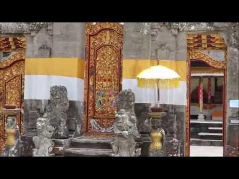 Inside Pura Ulun Danu Bratan, or Pura Bratan,Bali, Indonesia