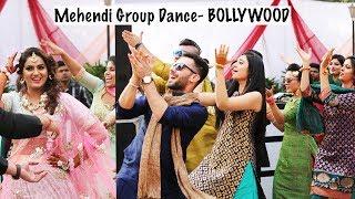 bollywood mehendi group dance 2017 sangeet friends dance bollywood mix