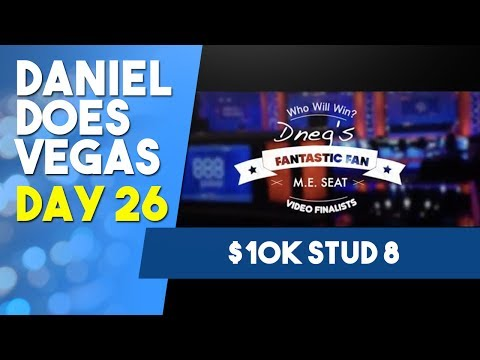 $10K Stud 8  - Will this be cash #100? - WSOP VLOG DAY 26