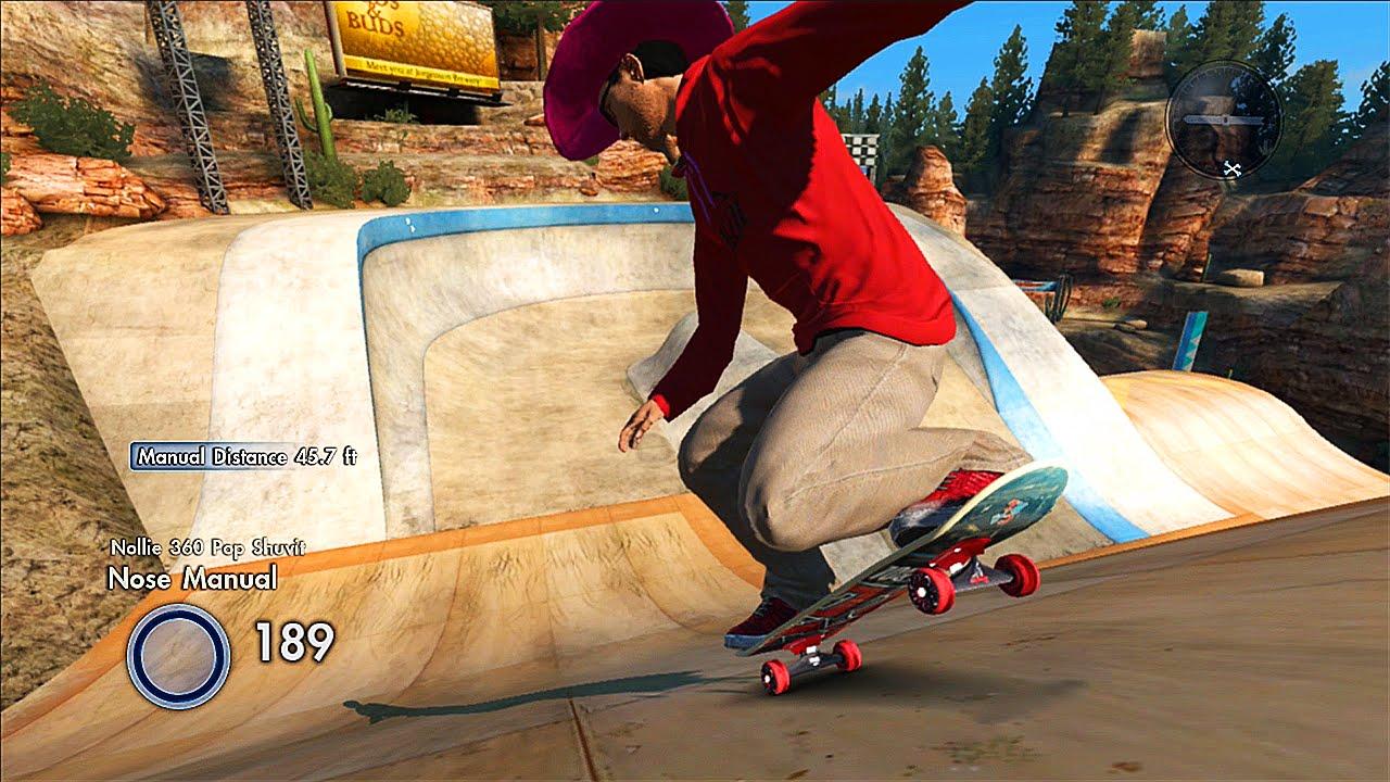 skate 3 mega park nose manual challenge x7 albert youtube rh youtube com EA Skate 2 Graphics Creator EA Skate 3