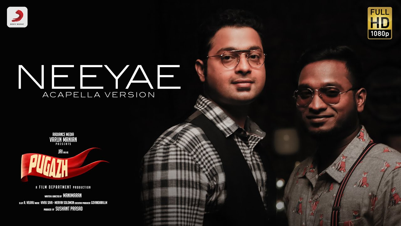 Neeyae - Acapella Version | Pugazh | Vivek-Mervin