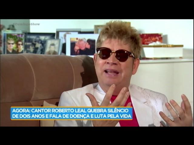 Roberto Leal revela por que não quis receber visita de Geraldo Luis enquanto estava doente