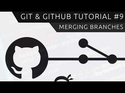 Git & GitHub Tutorial For Beginners #9 - Merging Branches (& Conflicts)
