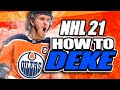 NHL 21 Tips: How To Master All Dekes!