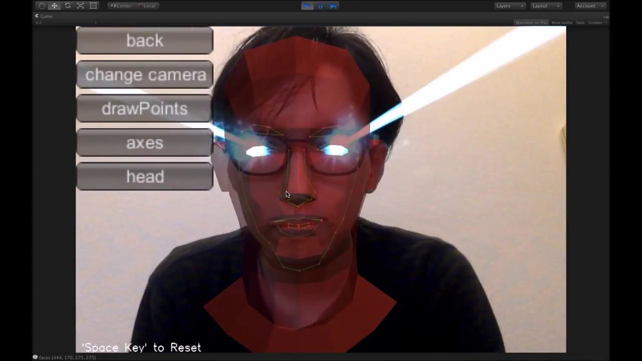 Unity Asset Store Pack - OpenCV Face Tracker SDK (Download link in  description)