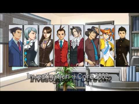(Old) Ace Attorney: All Investigation Themes 2015