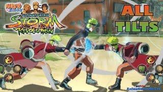 Naruto Shippuden Ultimate Ninja Storm Revolution All Tilts