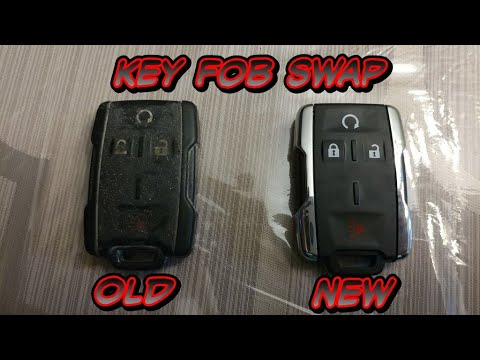 2014 Silverado Key Fob Swap Battery Change Youtube