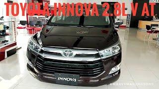 Video 2018 Toyota Innova 2.8L V AT - Blackish Red - Philippines download MP3, 3GP, MP4, WEBM, AVI, FLV Oktober 2018