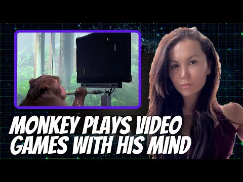 Brain to Machine Interface – Neuralink Monkey Playing a Video Game with its Mind.