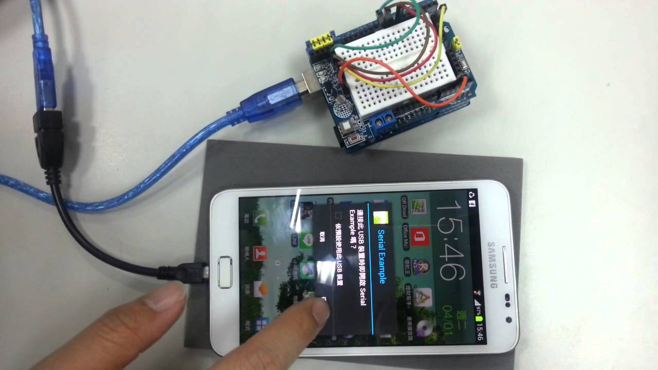 Arduino usb driver for android demo youtube