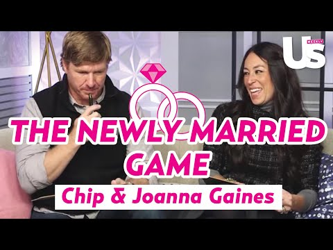 Fixer Upper's Chip & Joanna Gaines Play The Newly Married Game | Us Weekly