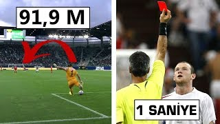 Futbol Tarihinin En İnanılmaz 10 Guinnes Rekoru