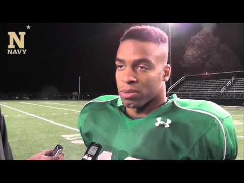 Navy Football Interviews 11-17-15