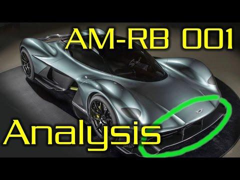 Adrian Newey's Hypercar! AM-RB001 Aerodnyamics Explained