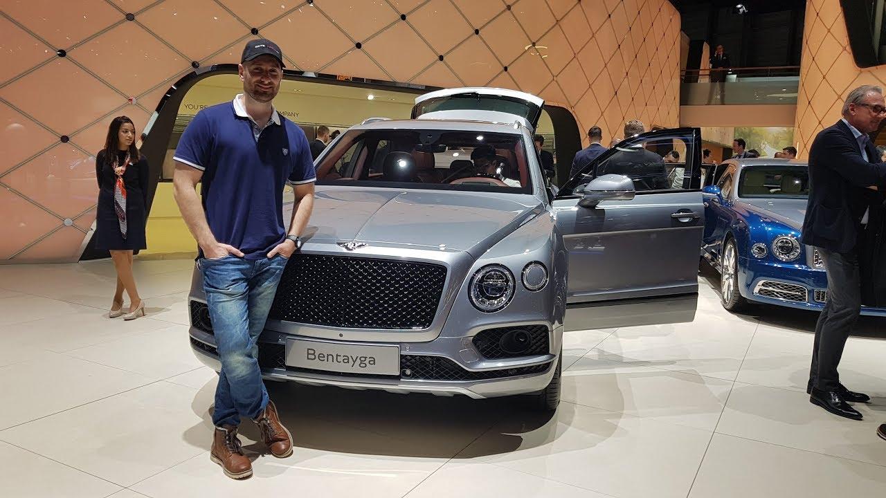 Bentley Bentayga V8 2019 Geneva Motorshow Youtube