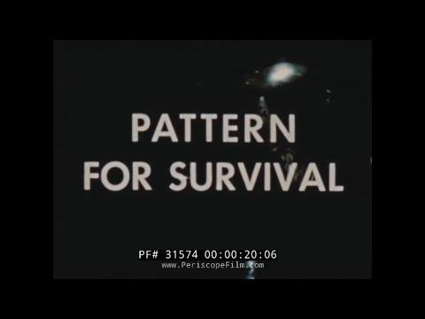 "1951 ATOMIC ATTACK CIVIL DEFENSE FILM  ""PATTERN FOR SURVIVAL""  31574"