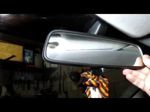 Снимаем салонное и боковые зеркала Опель Астра G // Remove The Salon And Side Mirrors Opel Astra G