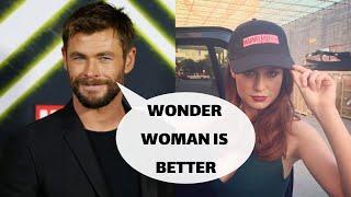 Chris Hemsworth HATES Brie Larson