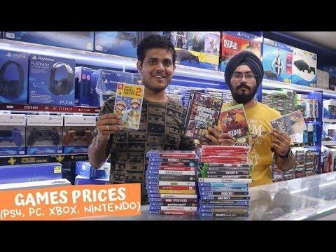 PS4, PC, XBOX, NINTENDO GAMES PRICES(KAROL BAGH, DELHI).