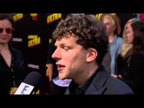 Footage from The American Ultra Premiere on August 18, 2015 in Los Angeles