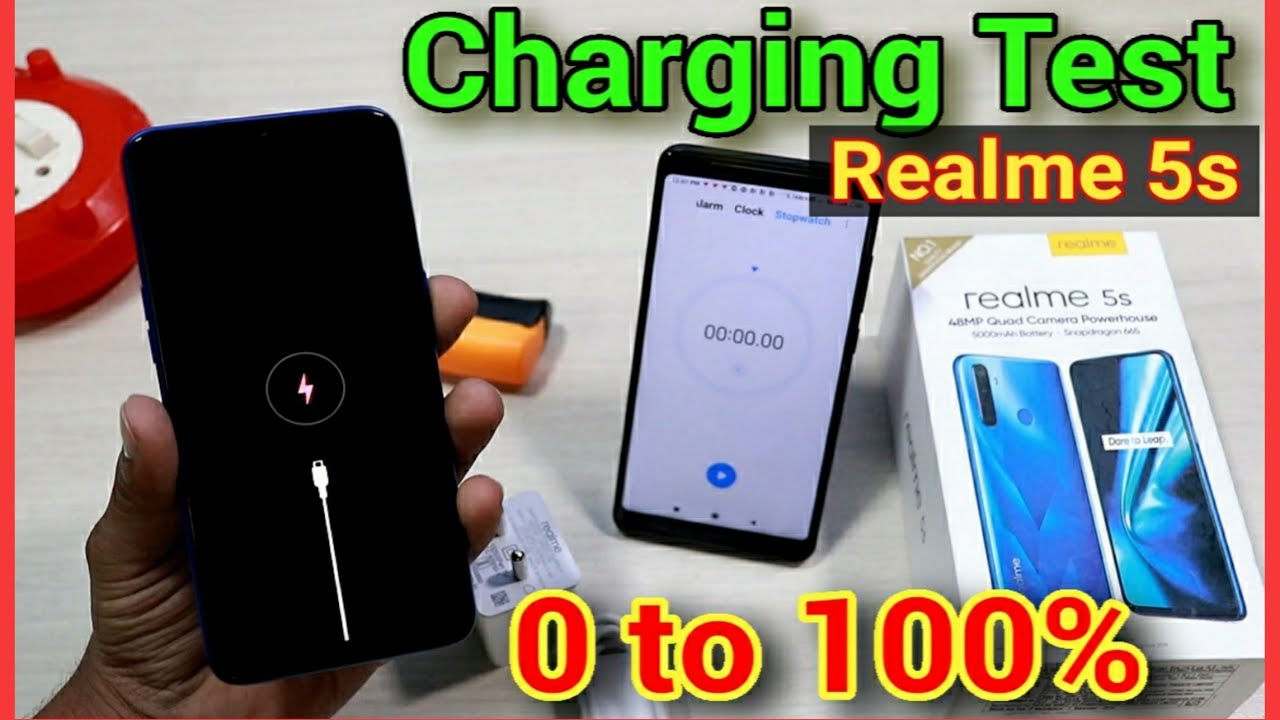 Download Realme 5s Charging Test With Box Charger ||0 - 100% & Heating Test