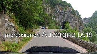Auvergne // Ein Fahrt nach Ebreuil an der Fluss la Sioule, Méandre de Queuille