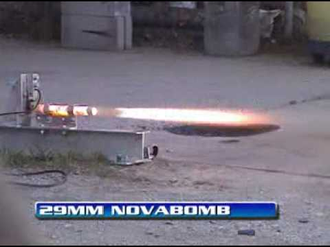 Experimental Solid Fuel Rocket Motor Static Tests March 20, 2004